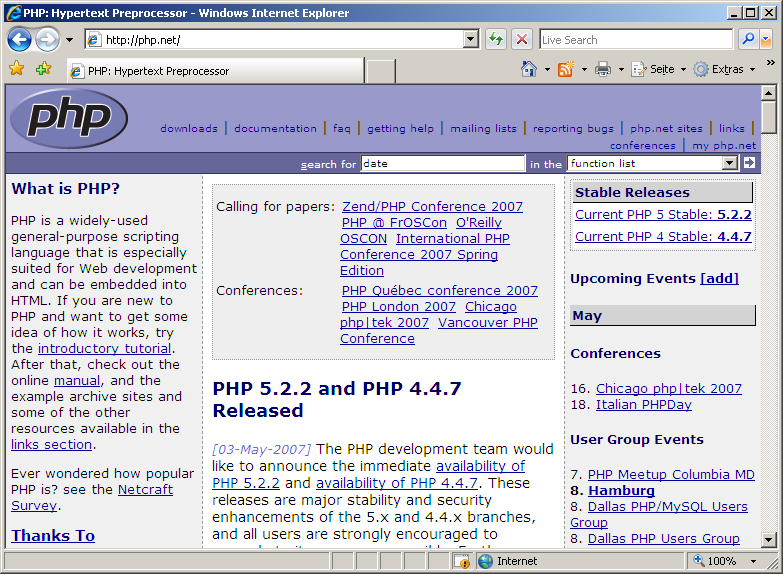 php net