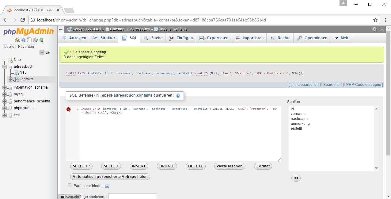 Anti-DDoS Script mit PHP und MySQL